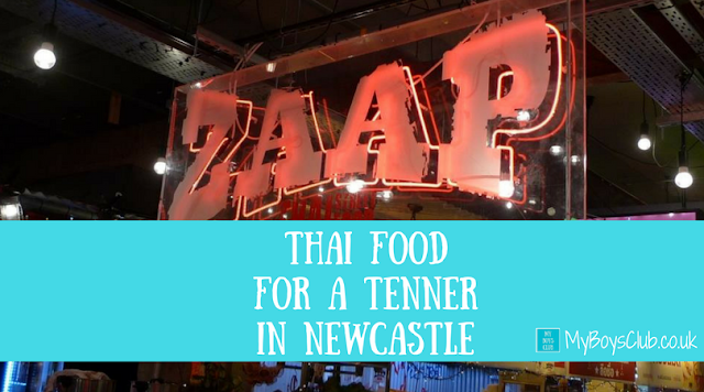 Thai Food for a Tenner in Newcastle at zaap thai