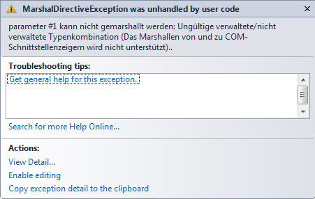 catch (ThinkException ex): 2012