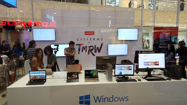 Lenovo #CITIZENSOFTMRW Pop-up store, Megafashion Hall