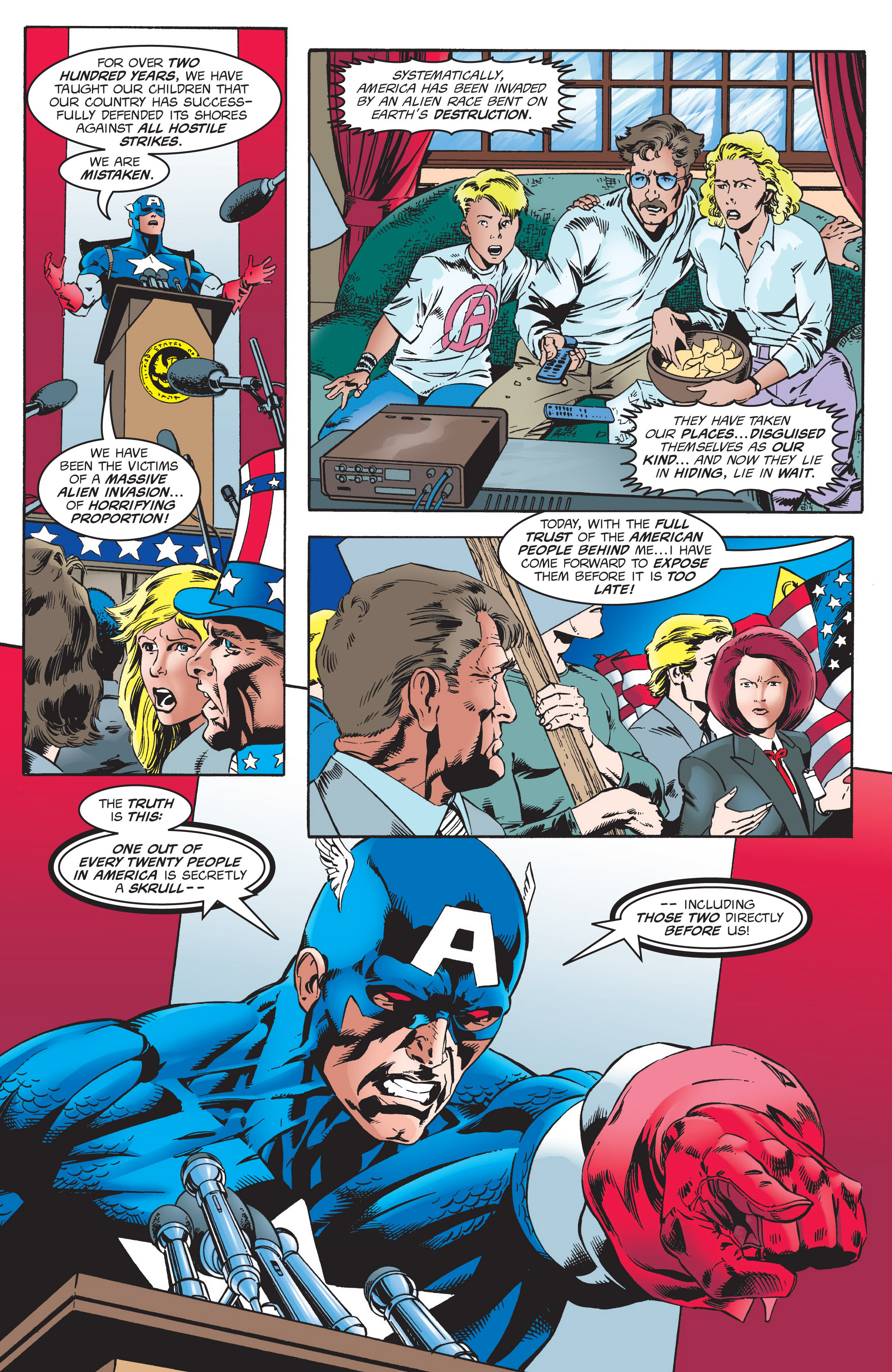 Captain America (1998) Issue #6 #9 - English 16