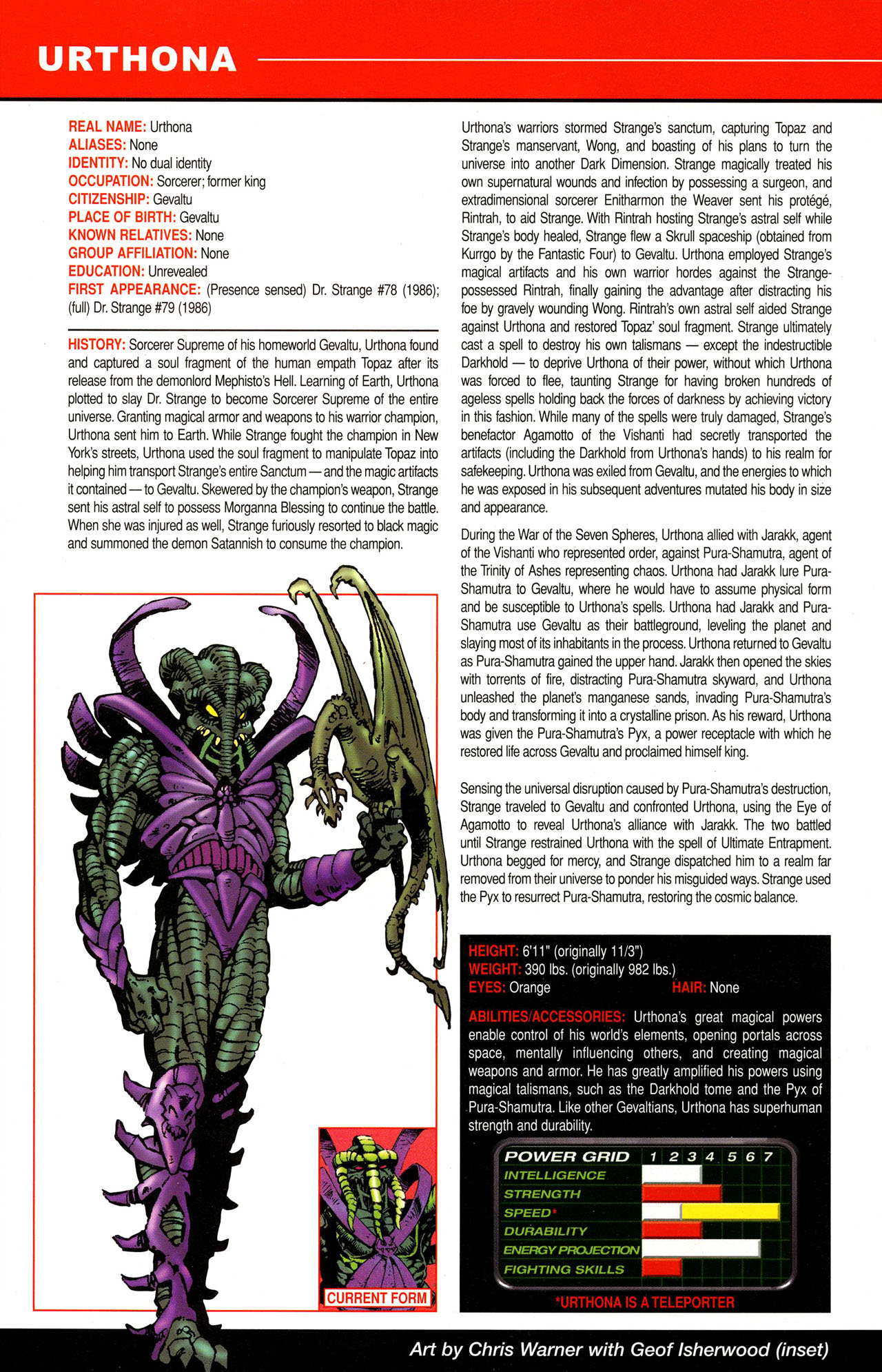 Read online All-New Official Handbook of the Marvel Universe A to Z comic -  Issue #12 - 12