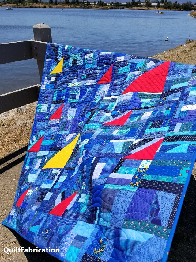 Regatta Quilt water side