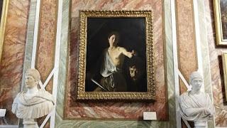 Caravaggio- david si Goliat