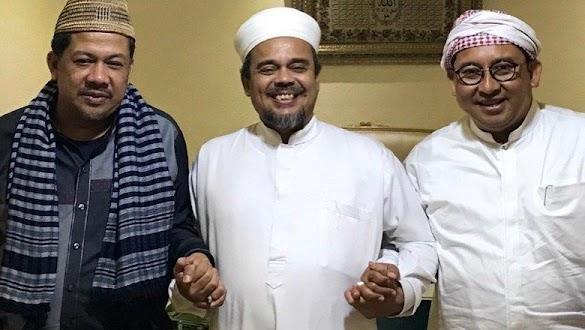 Fadli dan Fahri Temui HRS di Mekah, Ngobrol Hingga Subuh