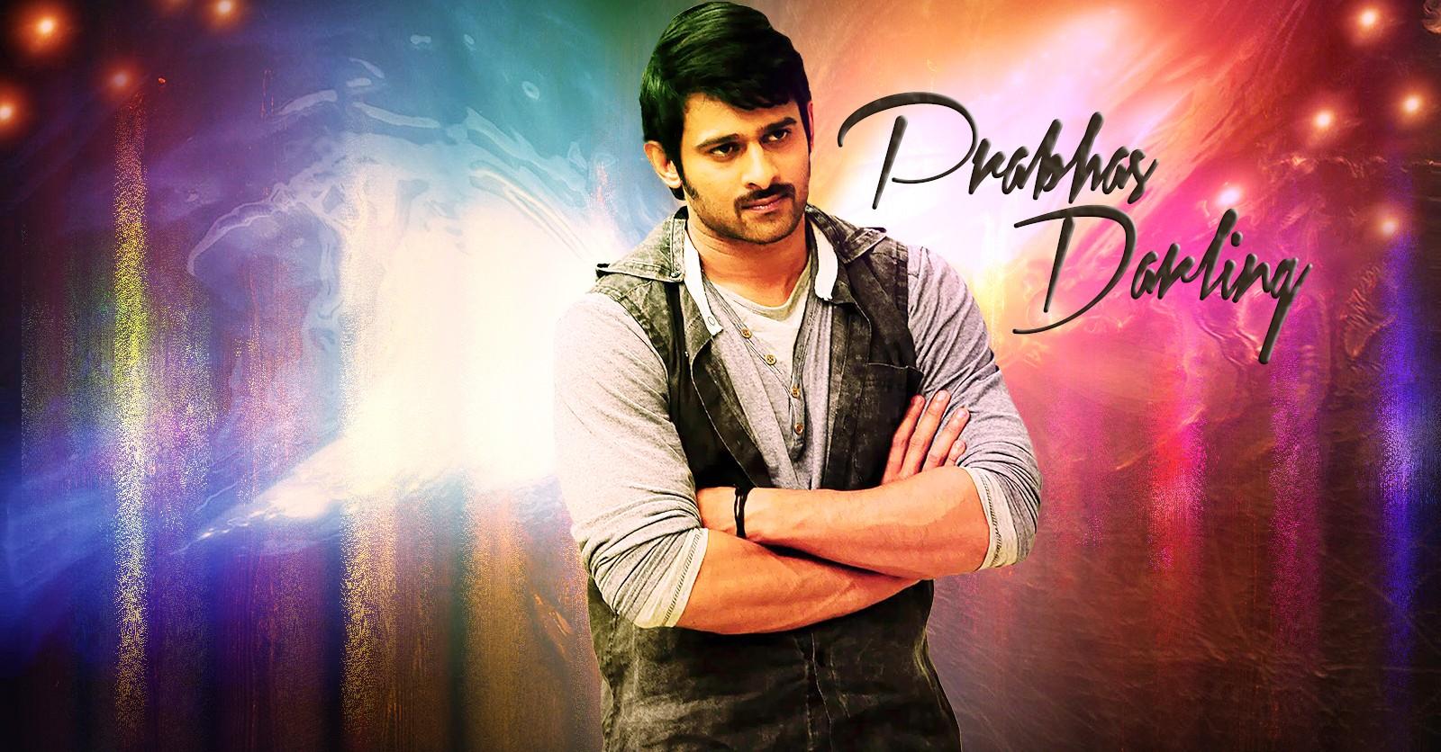 South Indian Actress Prabhas Raju HD Wallpaper Desktop