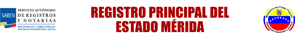 Registro Principal del Estado Mérida