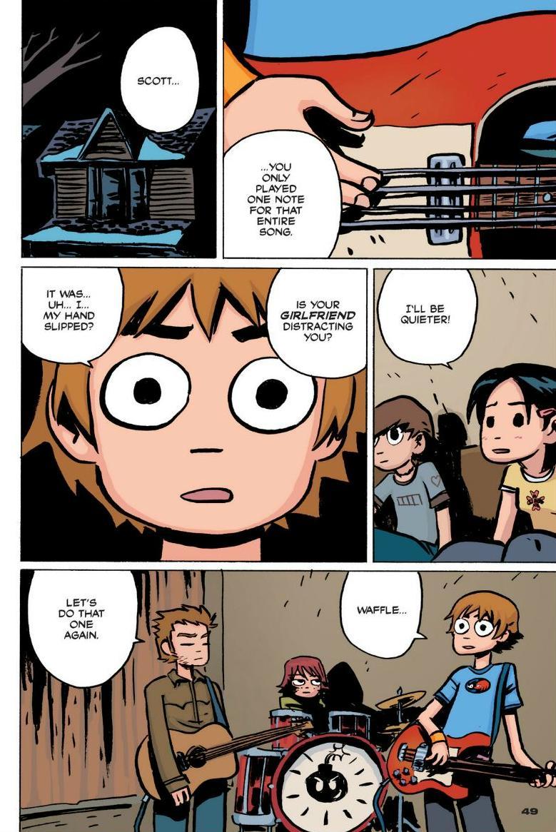 Read online Scott Pilgrim comic -  Issue #1 - 43