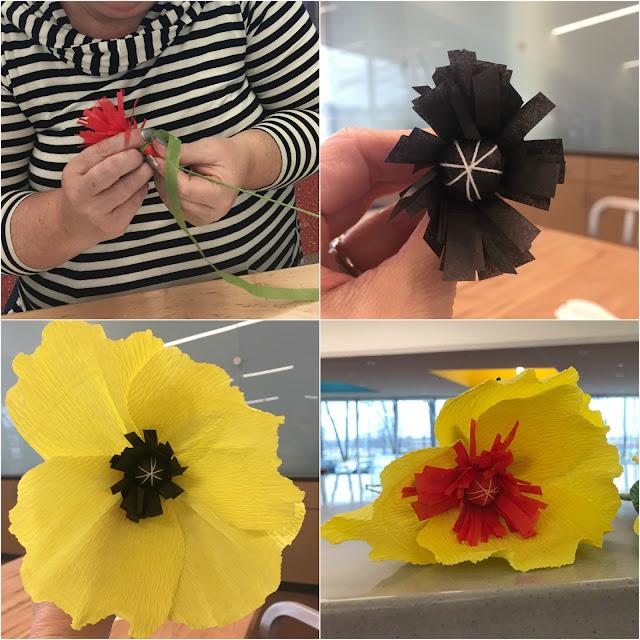 Paint Paper Petal Flower Workshop