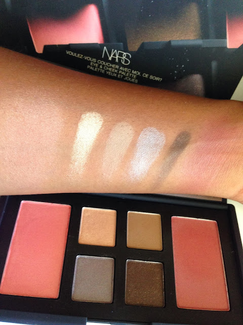 NARS 'Voulez Vous Cheek & Eye Palette' -  www.modenmakeup.com