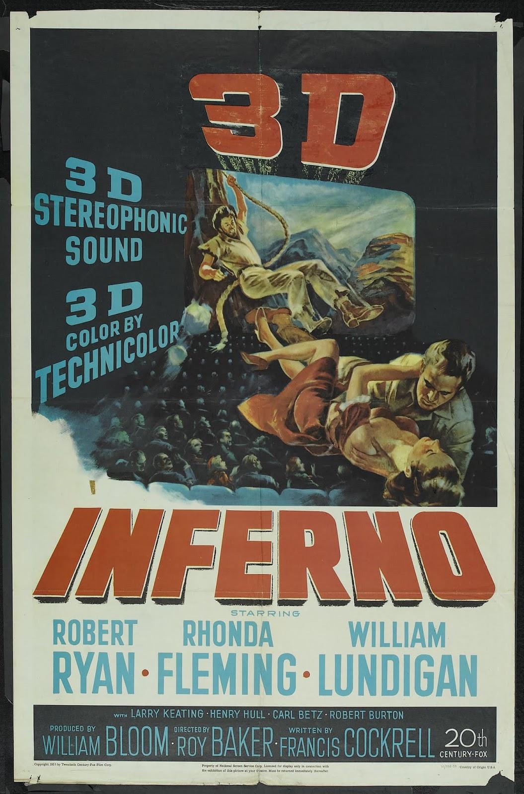 Jerry's Movie Blog: Inferno (1953)