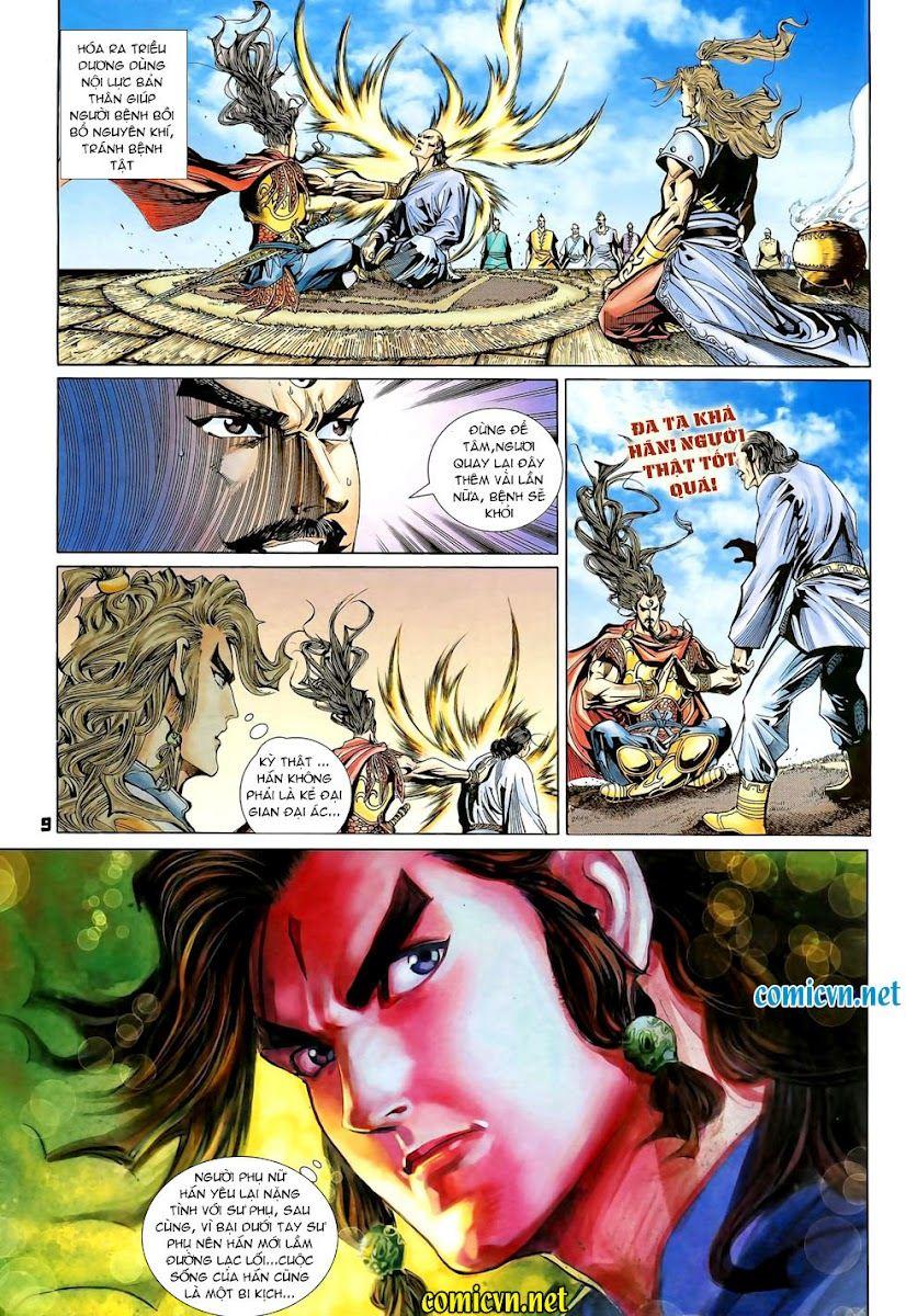 Đại Đường Uy Long chapter 90 trang 9