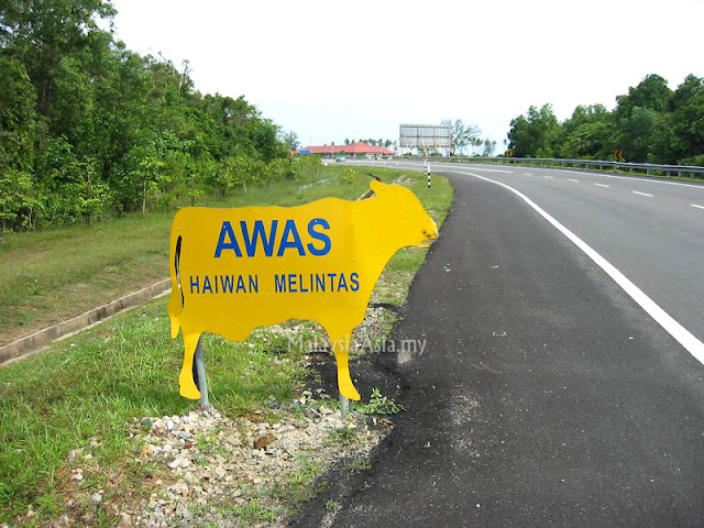 Photo of Malaysian Road Sign