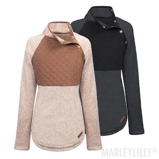 Asymmetrical Snap Pullover