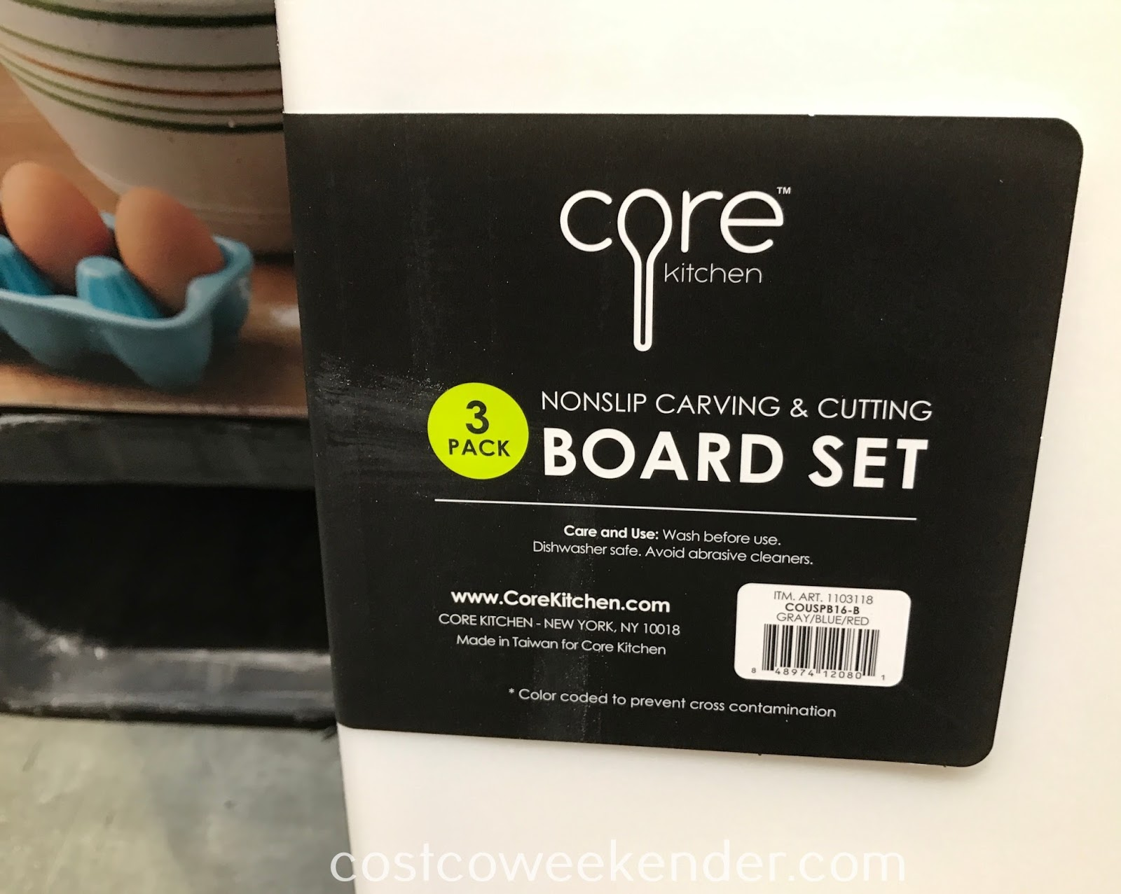 Costco 1103118 - Core Kitchen Nonslip Carving & Cutting Board Set: great for the kitchen and any home chef