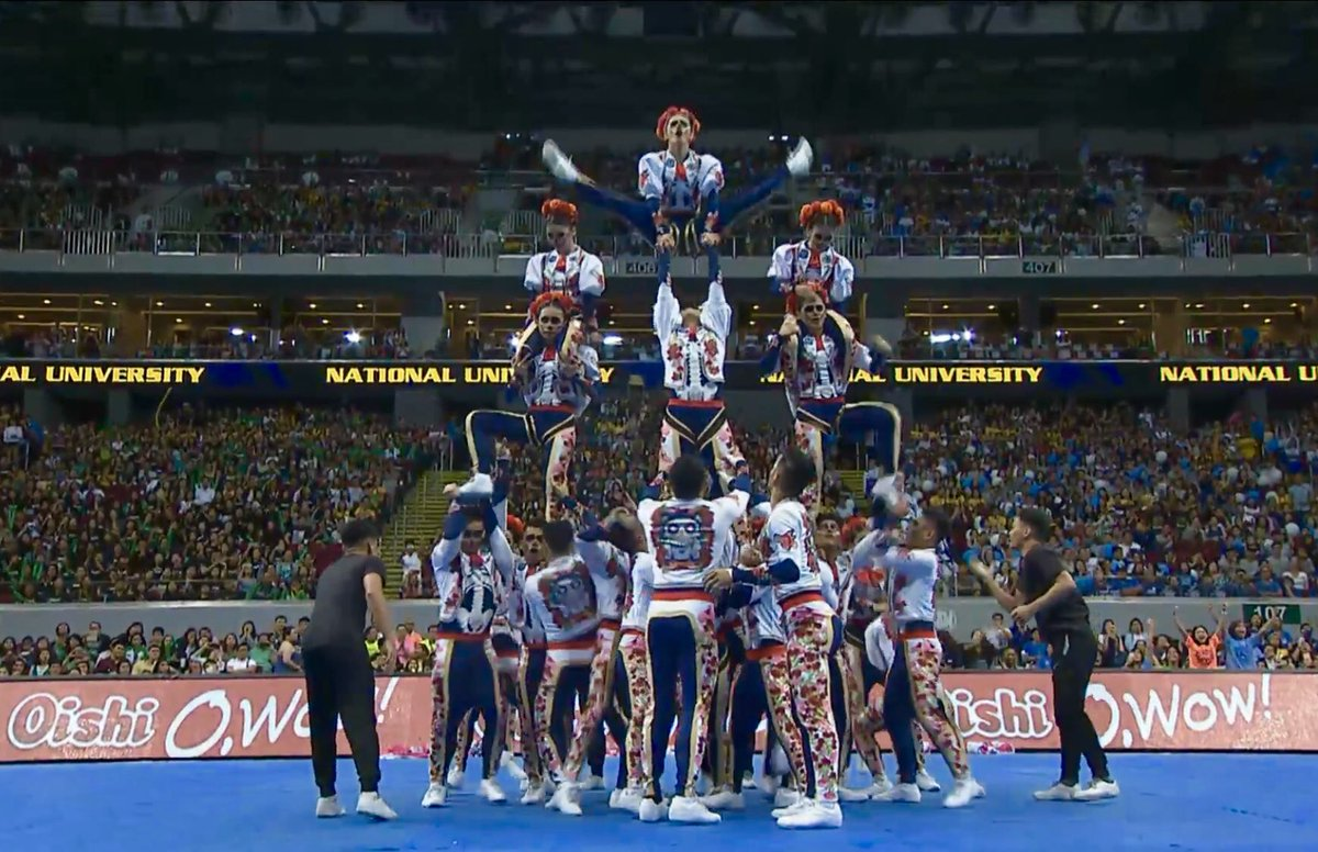 CHAMPION: NU Pep Squad wins 2018 Cheerdance Competition
