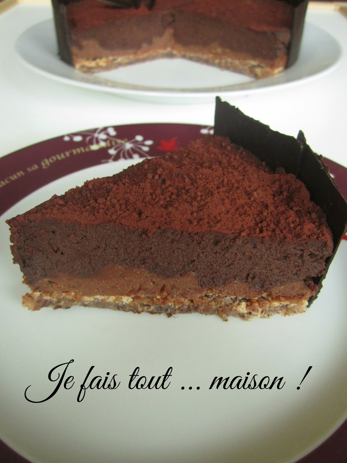 Recette Royal au chocolat ou Trianon