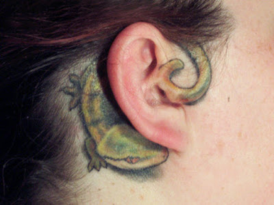 cute tattoo ideas for behind the ear