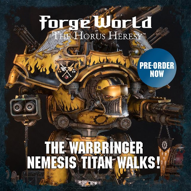 A Whole Host of Forgeworld Pre-Orders are Live Today