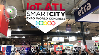 skignz is putting the 'AR' in the SMART City Expo World Congress, Barcelona.