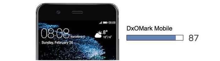 Specialists DxOMark conducted a test of the camera Huawei P10: 87 points out of 100