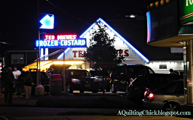 A Quilting Chick - Ted Drewes Frozen Custard