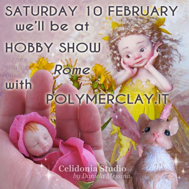 Saremo a Hobby Show Roma, la fiera della Creatività
