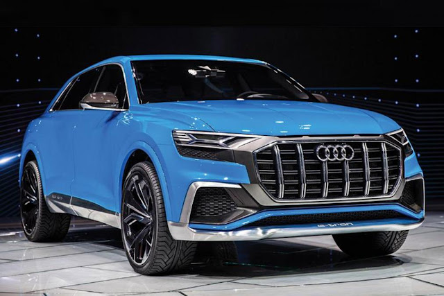 2018 New Audi Q8 SUV Specs, Engines and Release Date