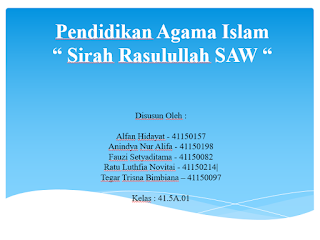 PPt agama islam, presentasi sejarah nabi, ppt sirah rasullulah