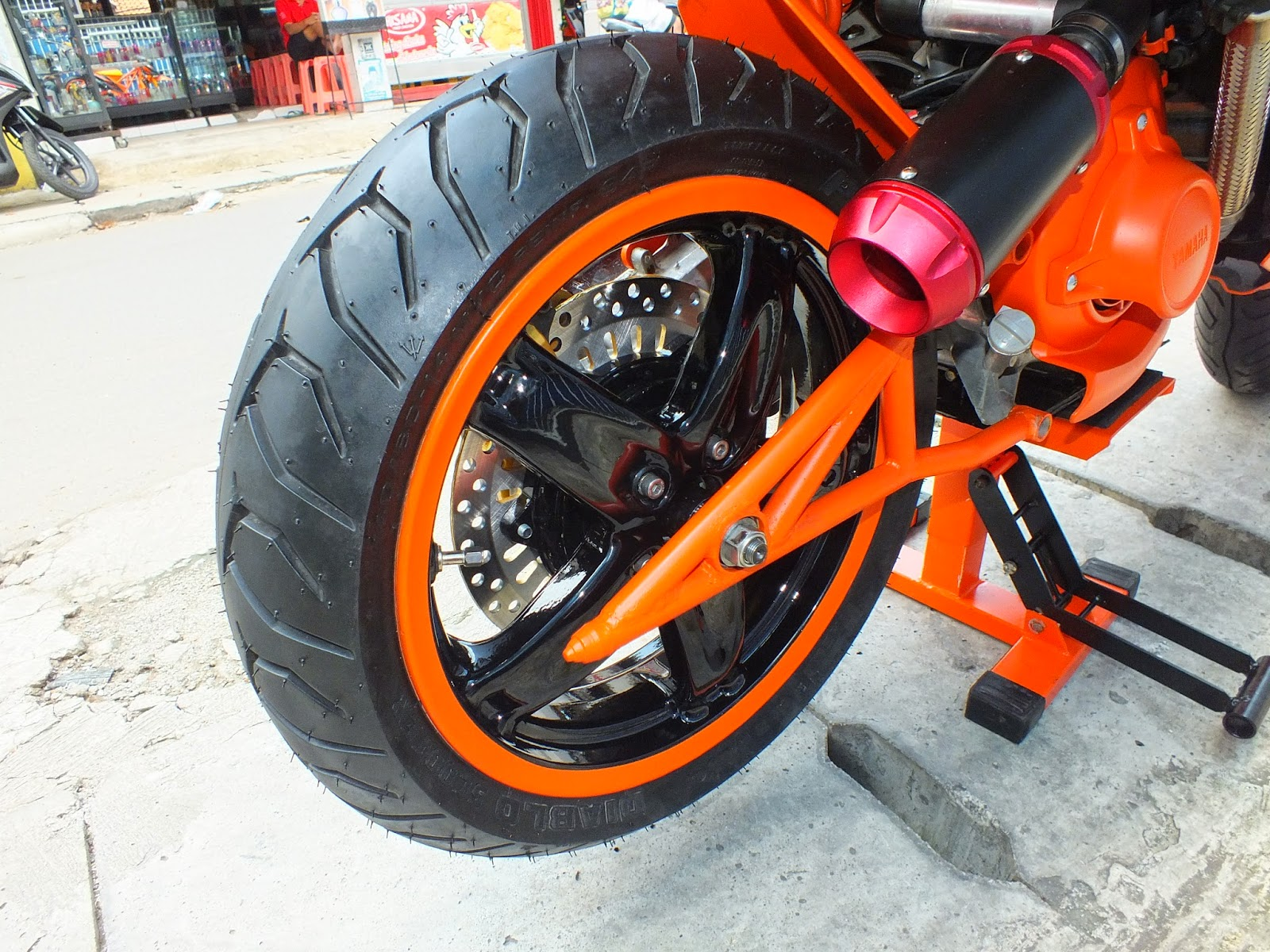 84 Modifikasi Filter Udara Scoopy Kumpulan Modifikasi Motor Scoopy