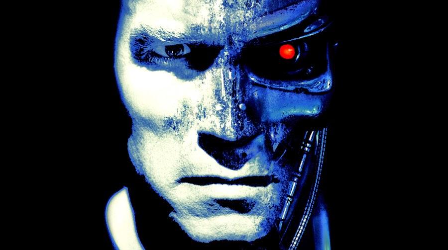 Arnold Schwarzenegger în rolul unui Terminator