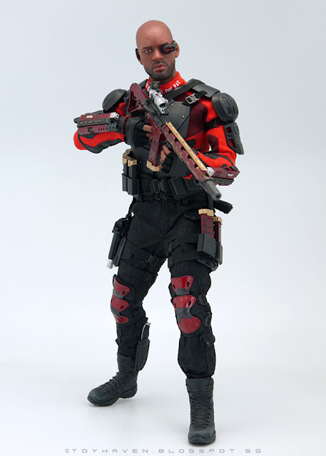 osw.zone Review II: Art Figures 1 / 6. Scale Deadly Soldier or Will Smith as Deadshot 12-inch Action Figure