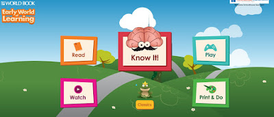 Early World Learning World Book resource
