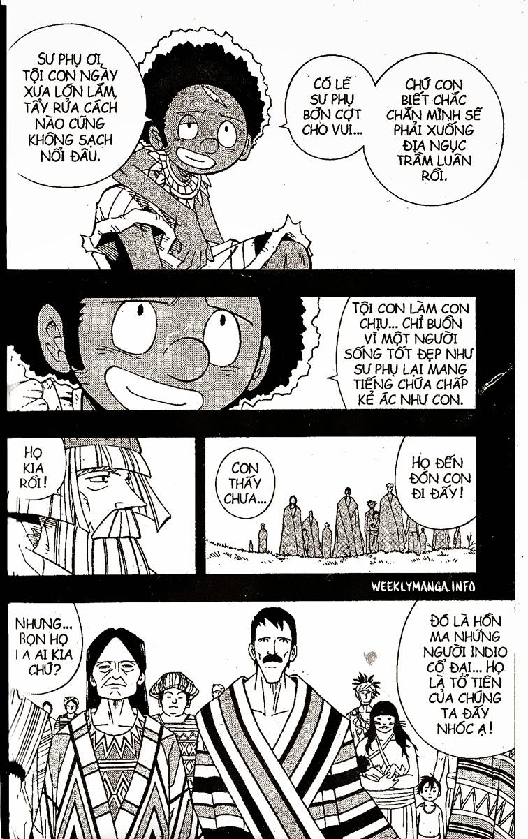Shaman King [Vua pháp thuật] chap 204 trang 19
