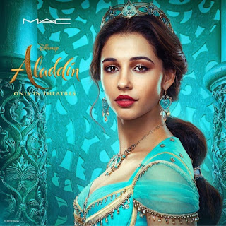 Coleção de makes da Mac sobre o filme Aladdin blog Lu Tudo Sobre Beleza