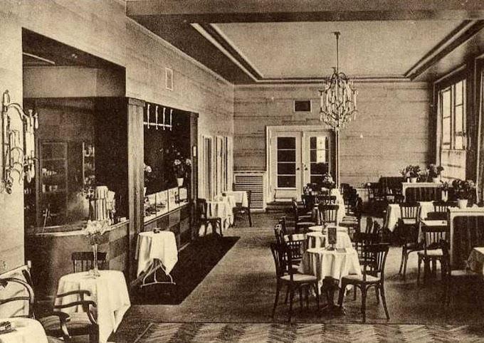 100 lat temu | Kawiarnie zdrojowe