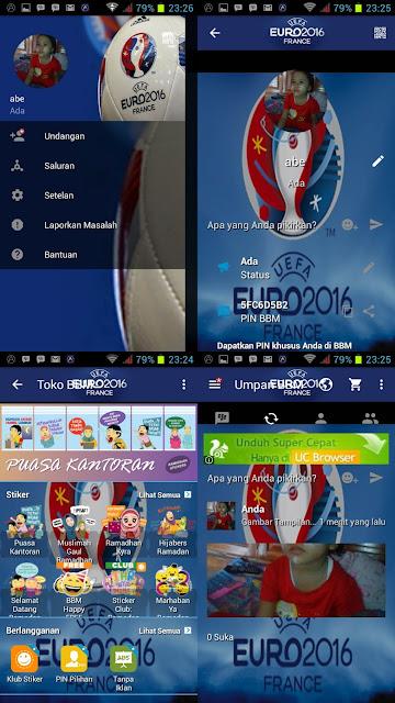 Download BBM  Mod Theme Euro