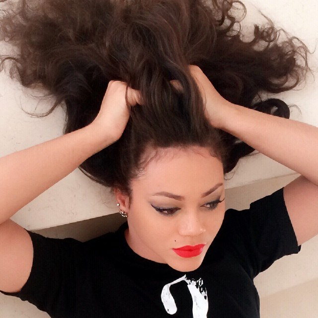 Nadia Buari reveals the only thing that can keep a man (Screenshot)