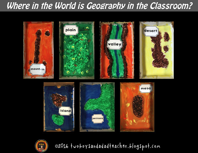 Teaching geography to elementary students is essential.