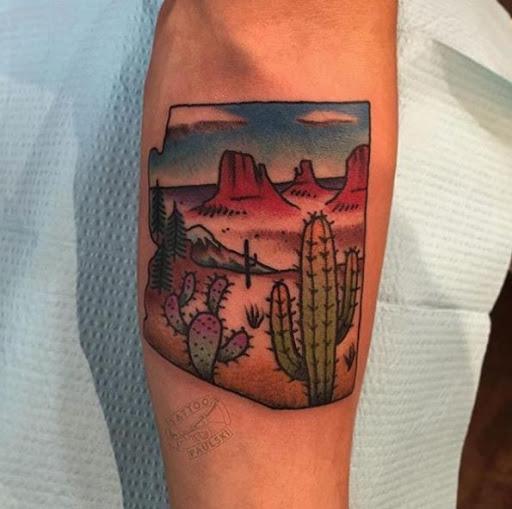 Este estado de tatuagem