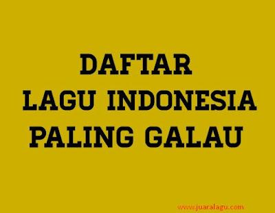 Download Kumpulan Lagu Galau Indonesia Terbaik Mp3