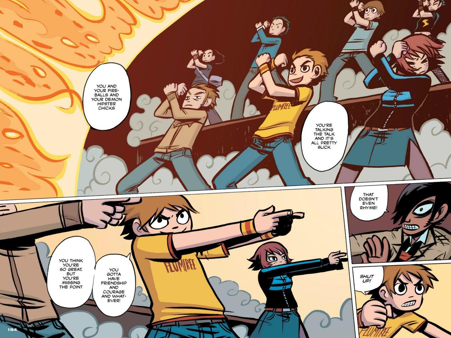 Read online Scott Pilgrim comic -  Issue #1 - 139