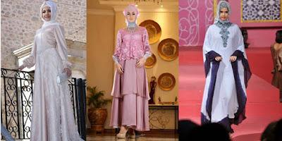 baju pesta muslim wanita