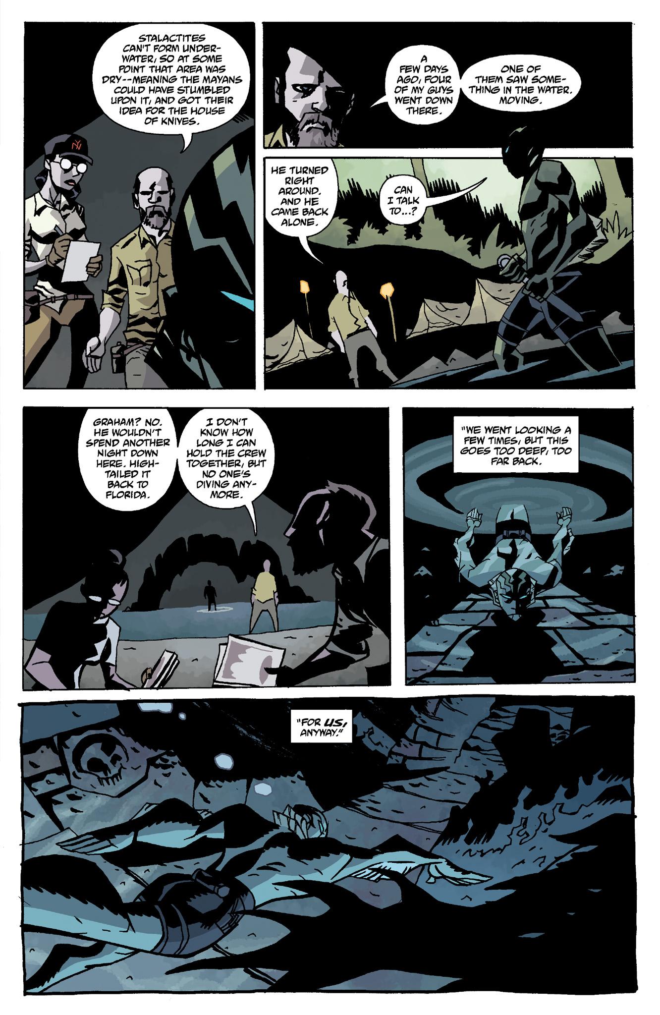 Read online Abe Sapien comic -  Issue #8 - 5