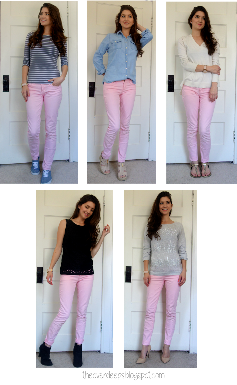 a496d567b299f I tried to choose similar articles of clothing I already owned. When my  pink jeans finally arrived