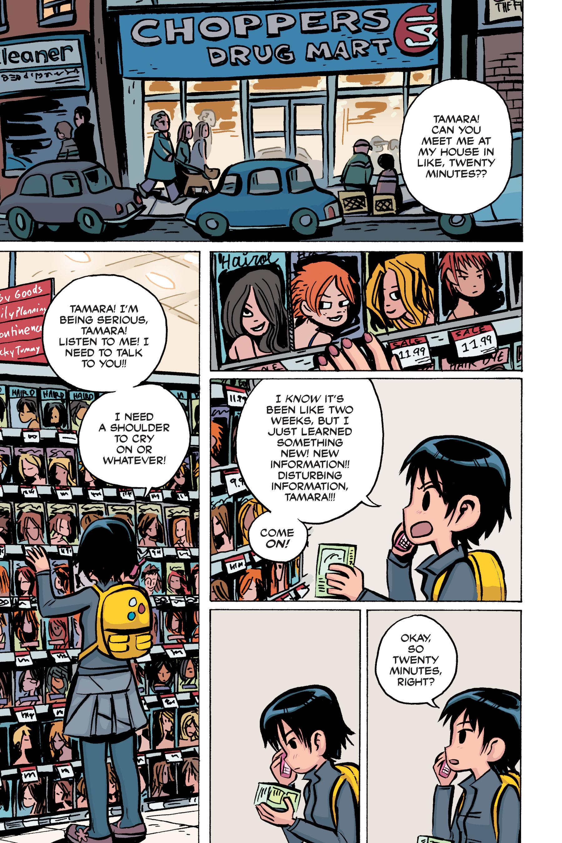 Read online Scott Pilgrim comic -  Issue #2 - 96