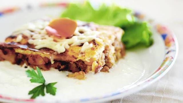 Musaká búlgara receta
