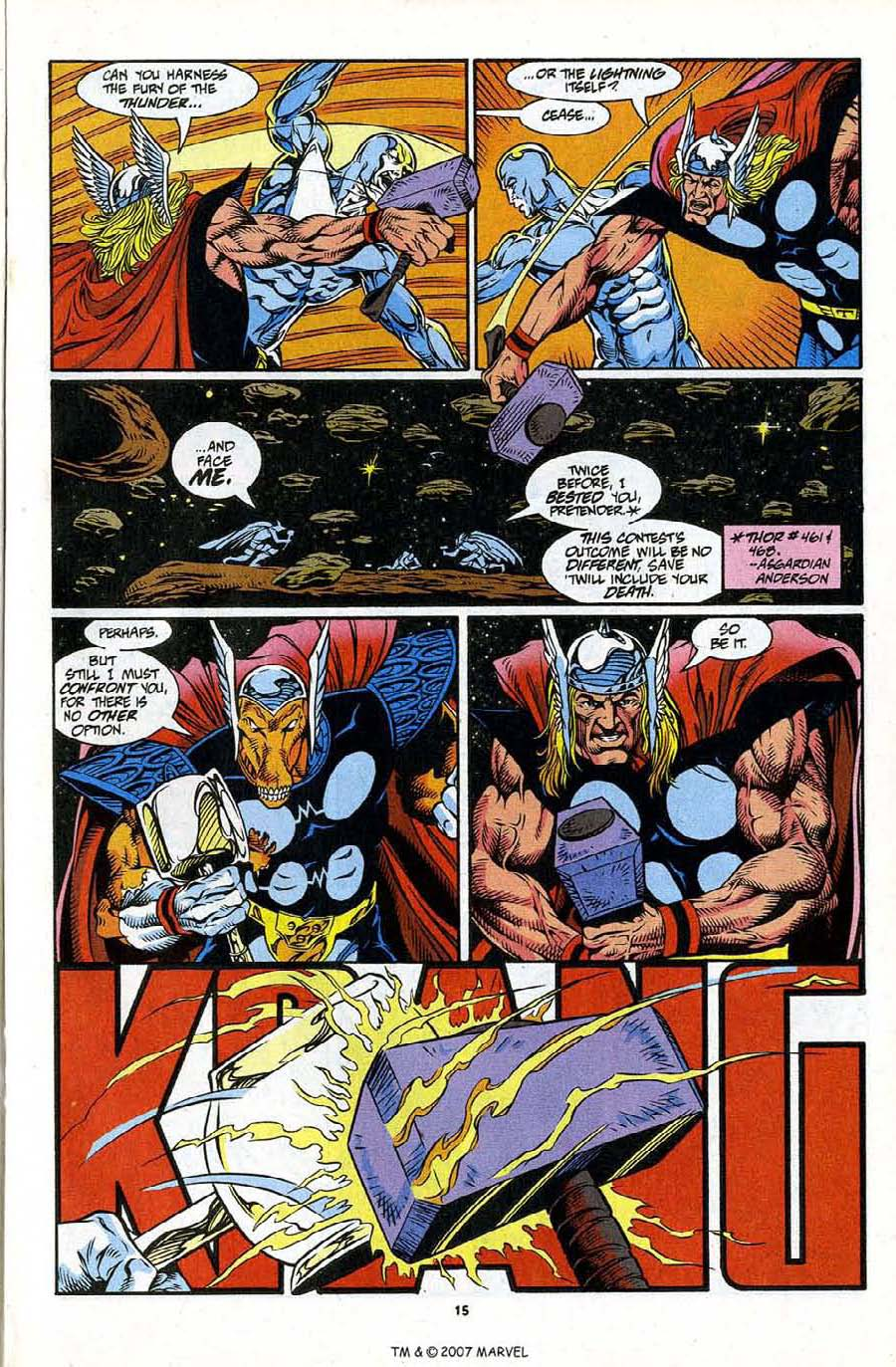 Read online Silver Surfer (1987) comic -  Issue #86 - 17