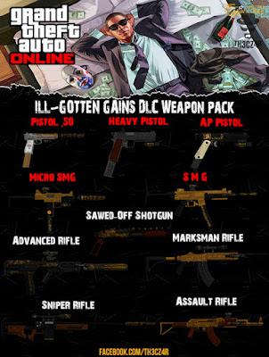 GTA V DLC Gun Pack