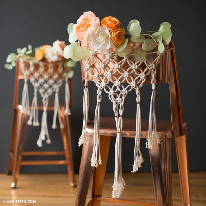 4 tutoriales para decorar con macramé