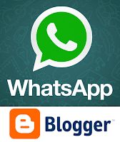 whatsapp sharing button widget blogger image